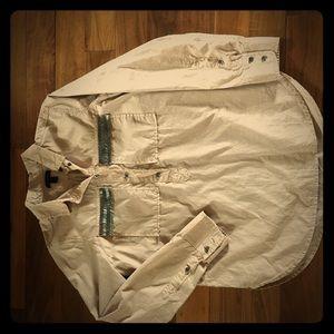 JCrew beaded military tunic